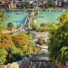 Budapeşte Castle Hill Funicular Nerede