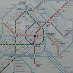 Avusturya Viyana Metro Haritası