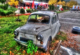 Makedonya Bitola Manastır Klasik Araba