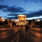 Budapeşte Chain Bridge Resimleri Zincirli Köprü