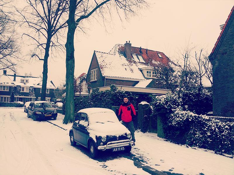 Hollanda Eindhoven Klasik Araç