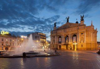 Ukrayna Lviv Opera House Nerede?