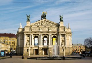 Ukrayna Lviv Opera House