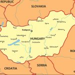 Macaristan Haritası