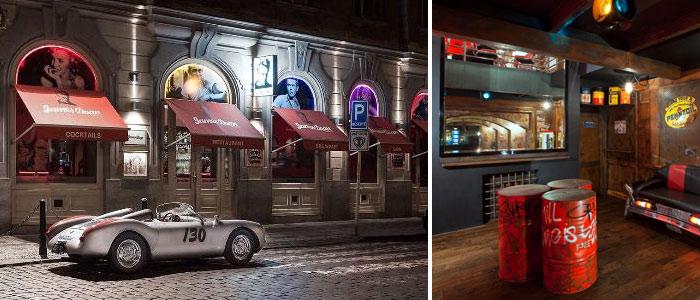 Prag Gece Hayatı - James Dean Bar - Nerede ?