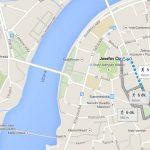 Prag Yahudi Mahallesi Haritası