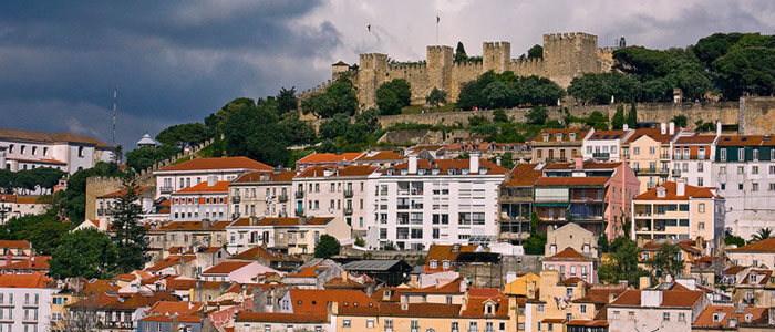 Sao Jorge Kalesi Lizbon – Portekiz