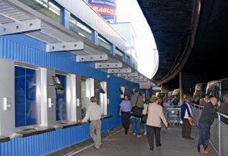 Viyana Otobüs Terminali - Budapeşte Yolculuğu