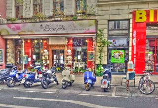 Viyana Sokakları Yaşam