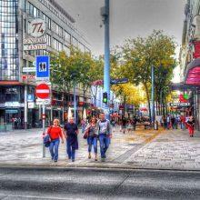 Viyana Sokakları Tramway Şehir Merkezi Nerede