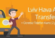 Lviv Hava Alanı Transferi - Ukrayna Taksi