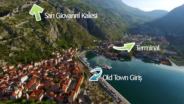 Kotor Old Town Nerede? - Karadağ
