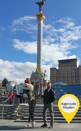Kiev Gezilecek Yerler - Bağımsızlık Meydanı