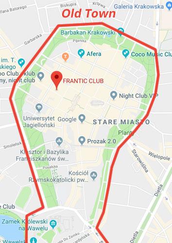 Krakow Gece Hayatı - Frantic Club Nerede?
