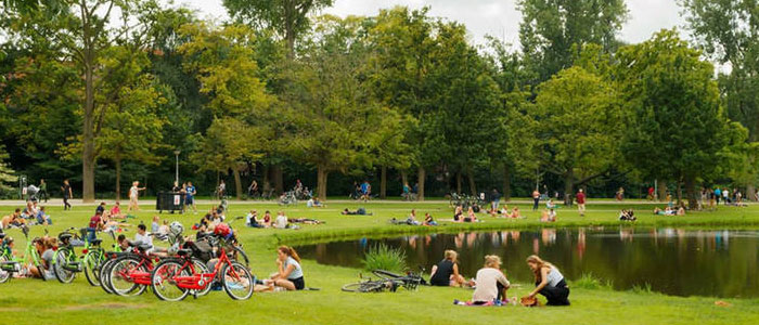 Amsterdam Vondelpark Nerede - Nasıl Gidilir ?