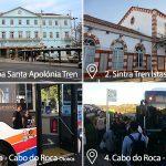 Lizbon Cabo do Roca Arası Tren Ulaşımı