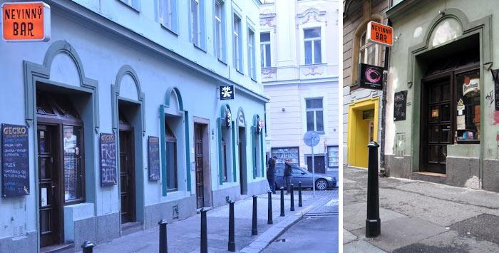 Nevinny Bar Gecko - Prag Gece Hayatı