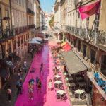 Lizbon Pink Street