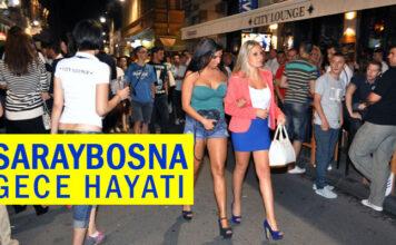 Saraybosna Gece Hayatı - Bosna Hersek - Levent IŞIKLI