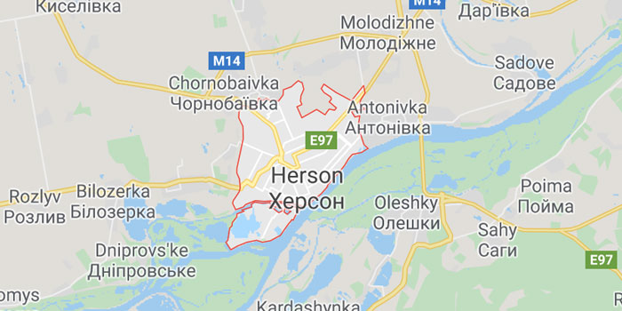 Kherson Nerede - Nasıl Gidilir - Ukrayna