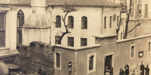 Hüsetin Ağa Camii - Pera Bölgesi Turu