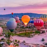 Kapadokya Balon Turları Kalkış Alanı